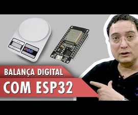 Digital Scale With ESP32