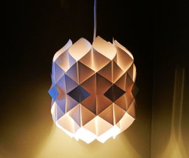 Paper lamp (cathedral light)