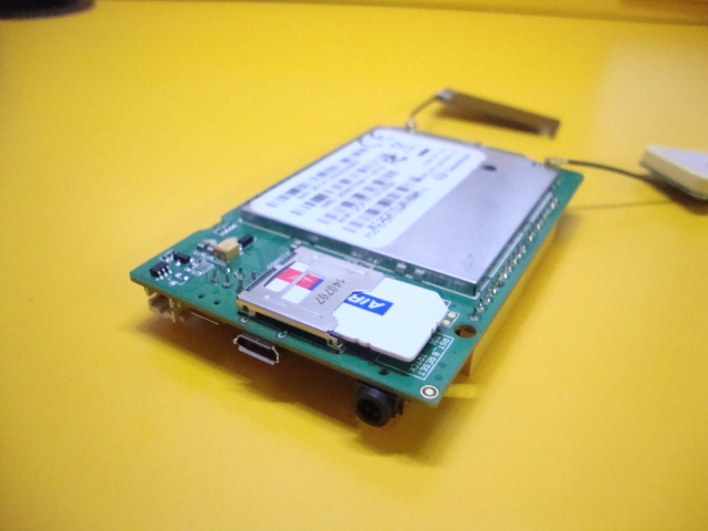 Picture of Connect the Battery and Insert the SIM Card