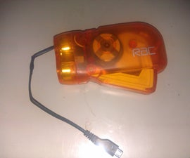 Hand Crank Mobile Phone Charger