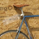 The recyclable soda bottle mudguard