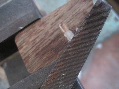 Making the Side-ward Rotating Pin