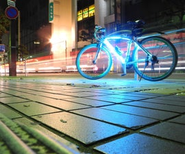 TRON style bicycle