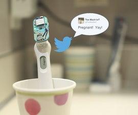 Tweeting Pregnancy Test