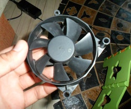 Old PC Fan ----> Wind Turbine in 10 Minutes