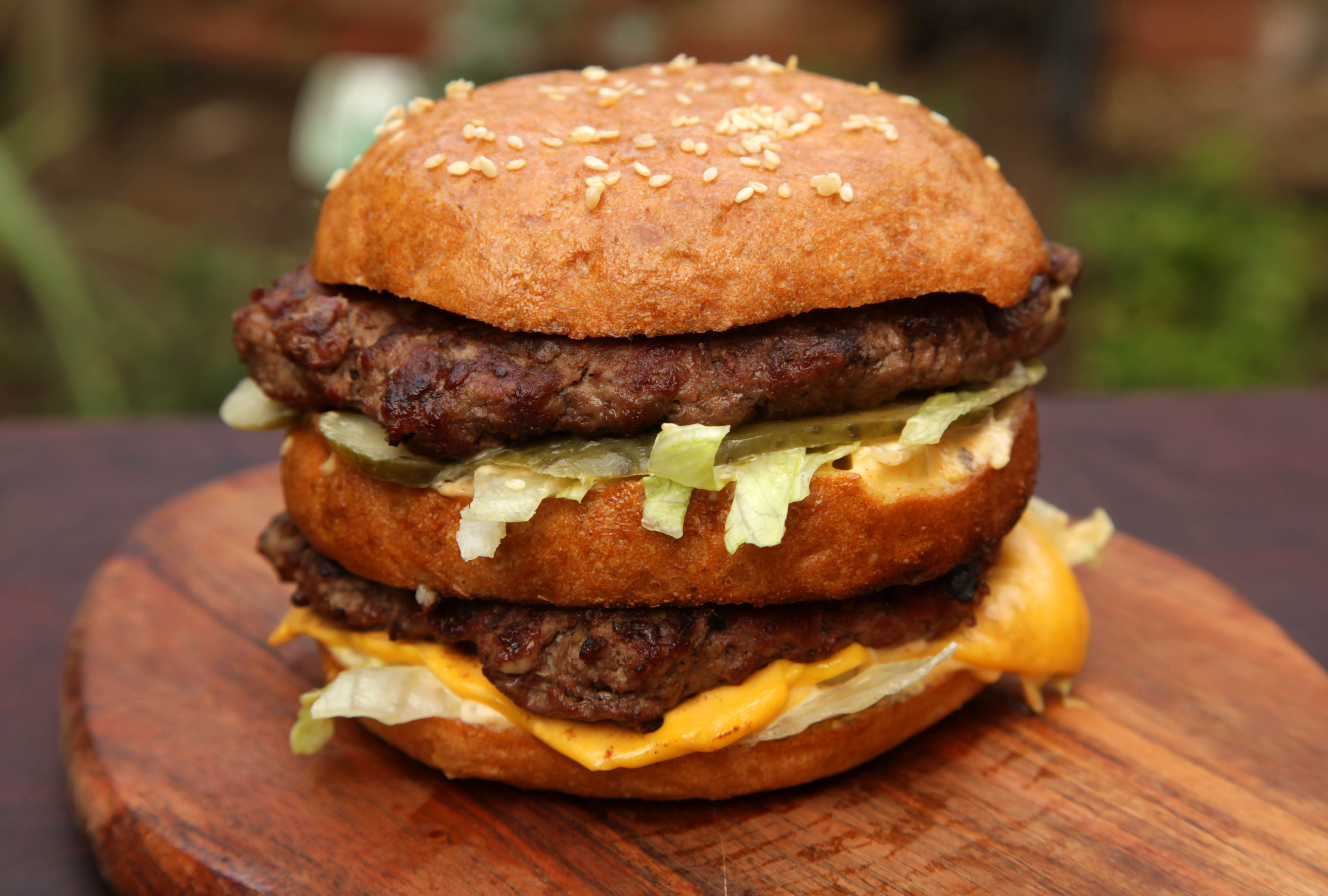 Picture of How to Cook a McDonalds Big Mac (But Better)