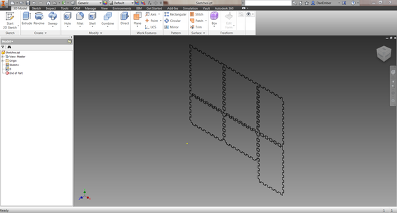 DXF to 3D Components
