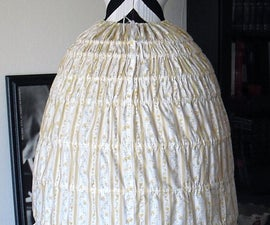 Sewing Your Custom Drafted Hoop Skirt