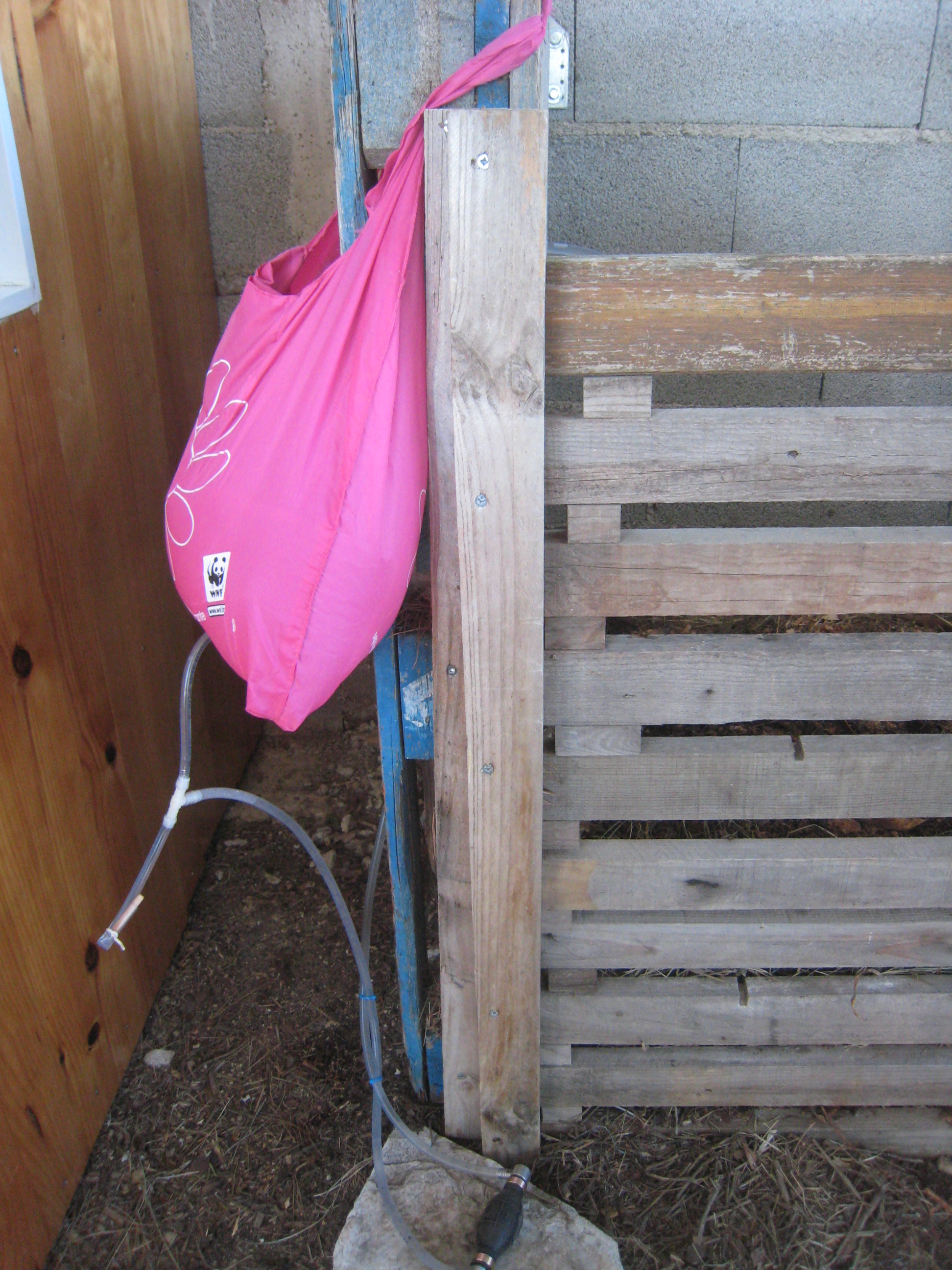 Picture of Transposition to Backyard Dry Toilets Washing Hand Solution