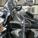 Motorcycle hand deflectors