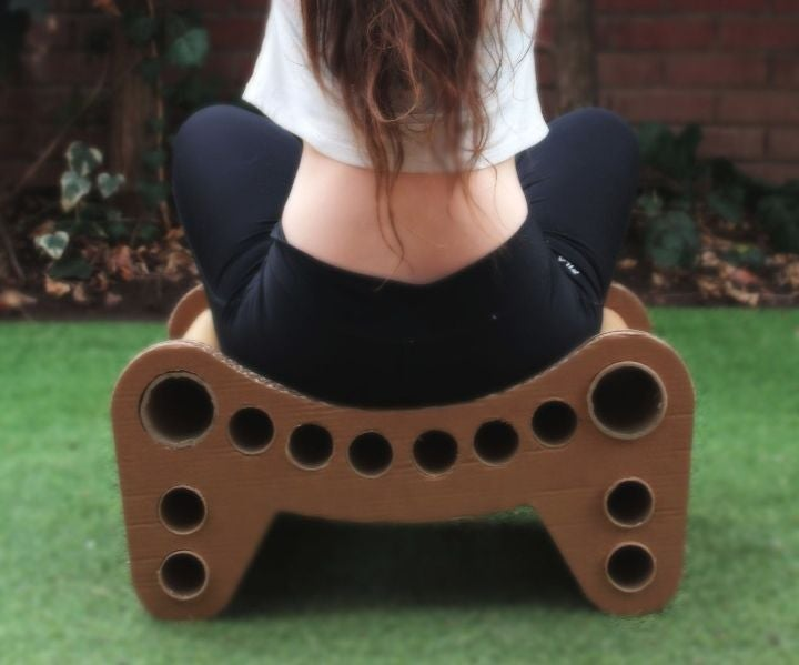 Casual Cardboard Stool