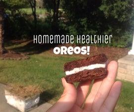 Healthier Homemade Oreos