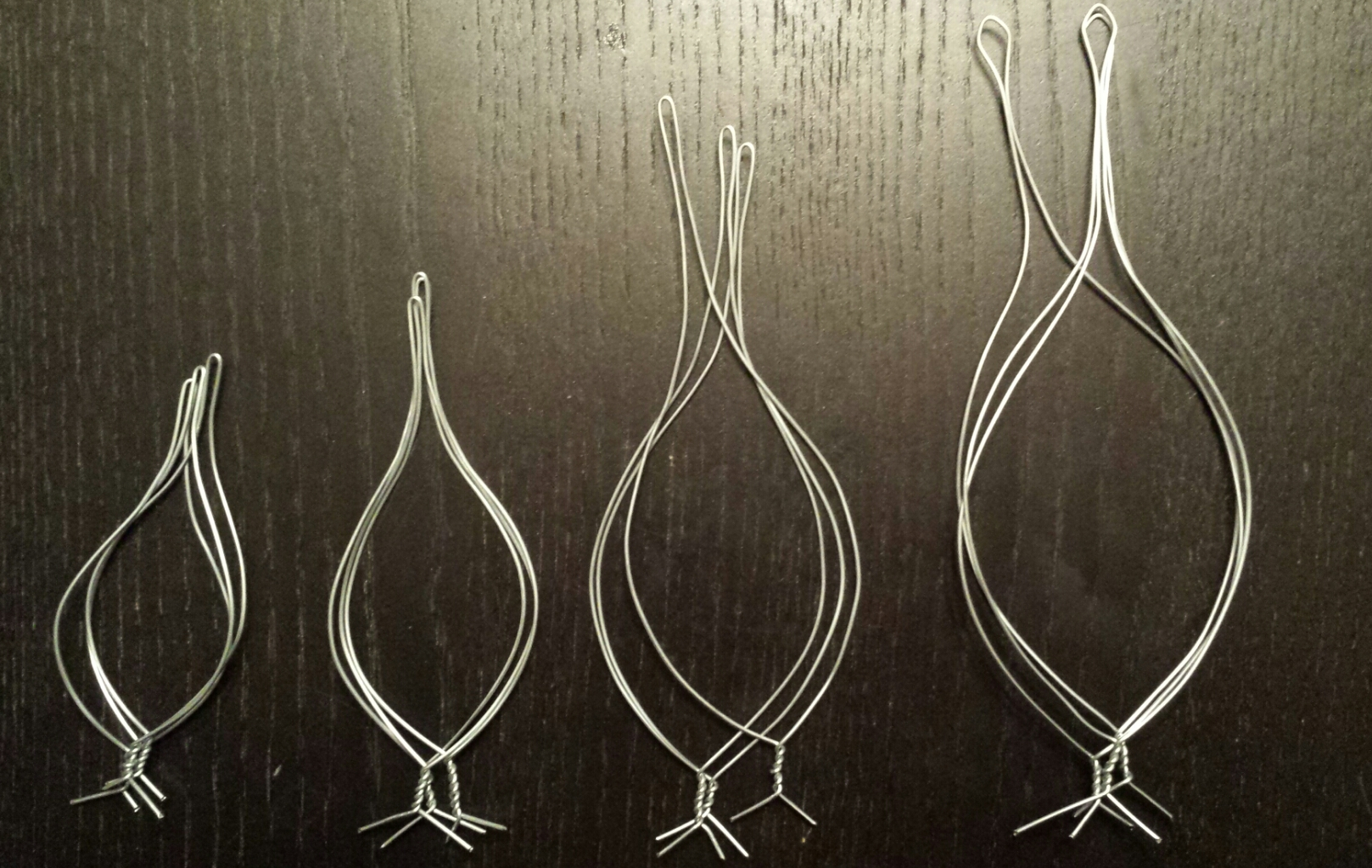 Picture of Wire Petal Frames