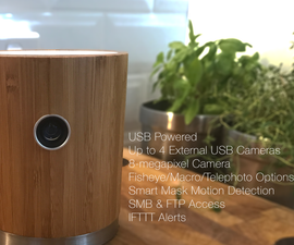 WoodThing IOT Security Camera