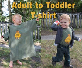 Adult to Toddler T-shirt