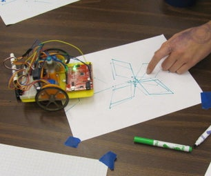 Using an Drawing Robot for Arduino With Hour of Code Tutorials