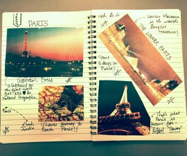 Make Your Own Travel Diary