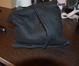 Rice filled microwave heat-up bag with liner
