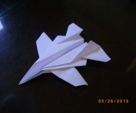 "The ""Drone Fighter"" paper-plane!"
