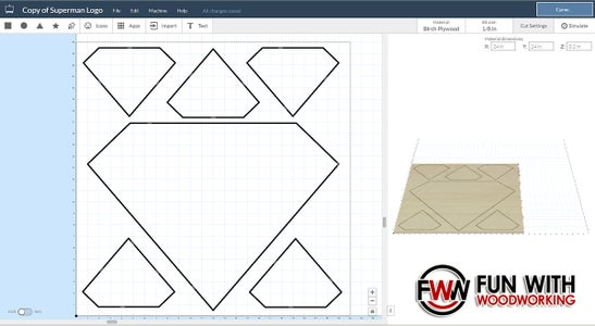 Design the Logo in Your CNC Software