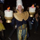 Lumiere costume Beauty and the Beast