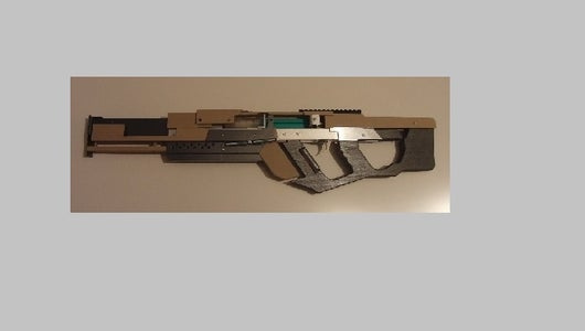 Pumpaction Syringe Airsoft Rifle