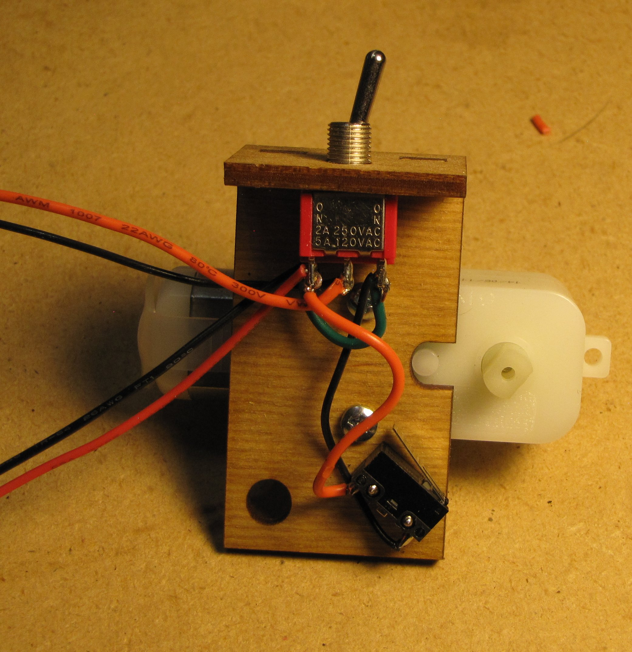 Picture of Mount the Toggle Switch