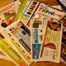 Junk Mail etc. Origami