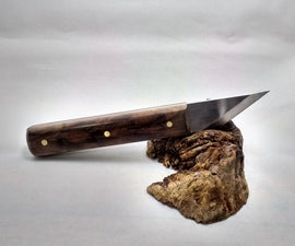 Making a Woodworking Marking knife