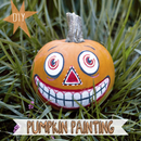 DIY Vintage Inspired Painted Pumpkin for Halloween!