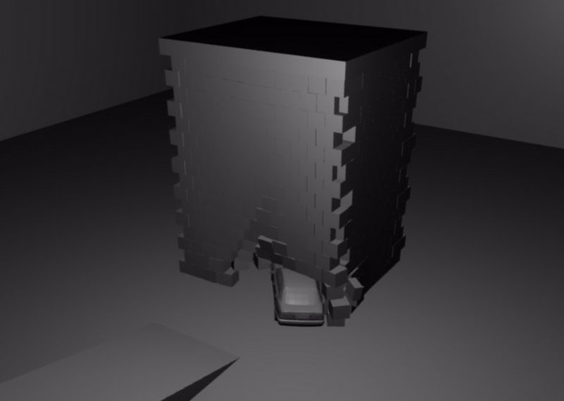 Picture of My Blender physics simulations!