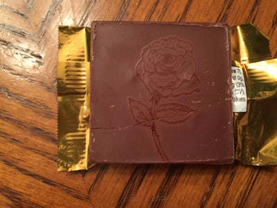 Engraving Chocolate...