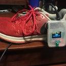 Shoe-Mounted Running Distance Tracker