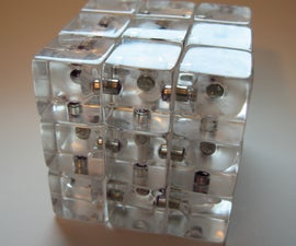 Magnetic Acrylic Rubik's Cube