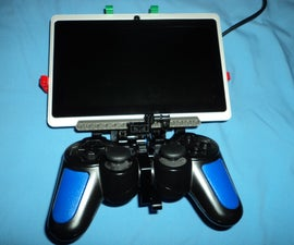 Smartphone/tablet to Playstation controller rig