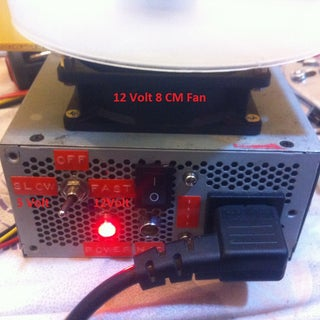 Variable Speed Magnetic Stirrer From a PC Power Supply
