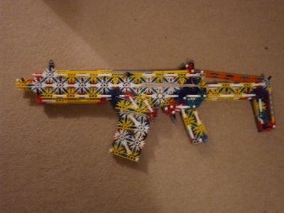 Updated Remington ACR - Adaptive Combat Rifle, Knex
