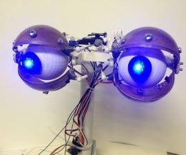 Animatronic Eyes and Wii Nunchuck