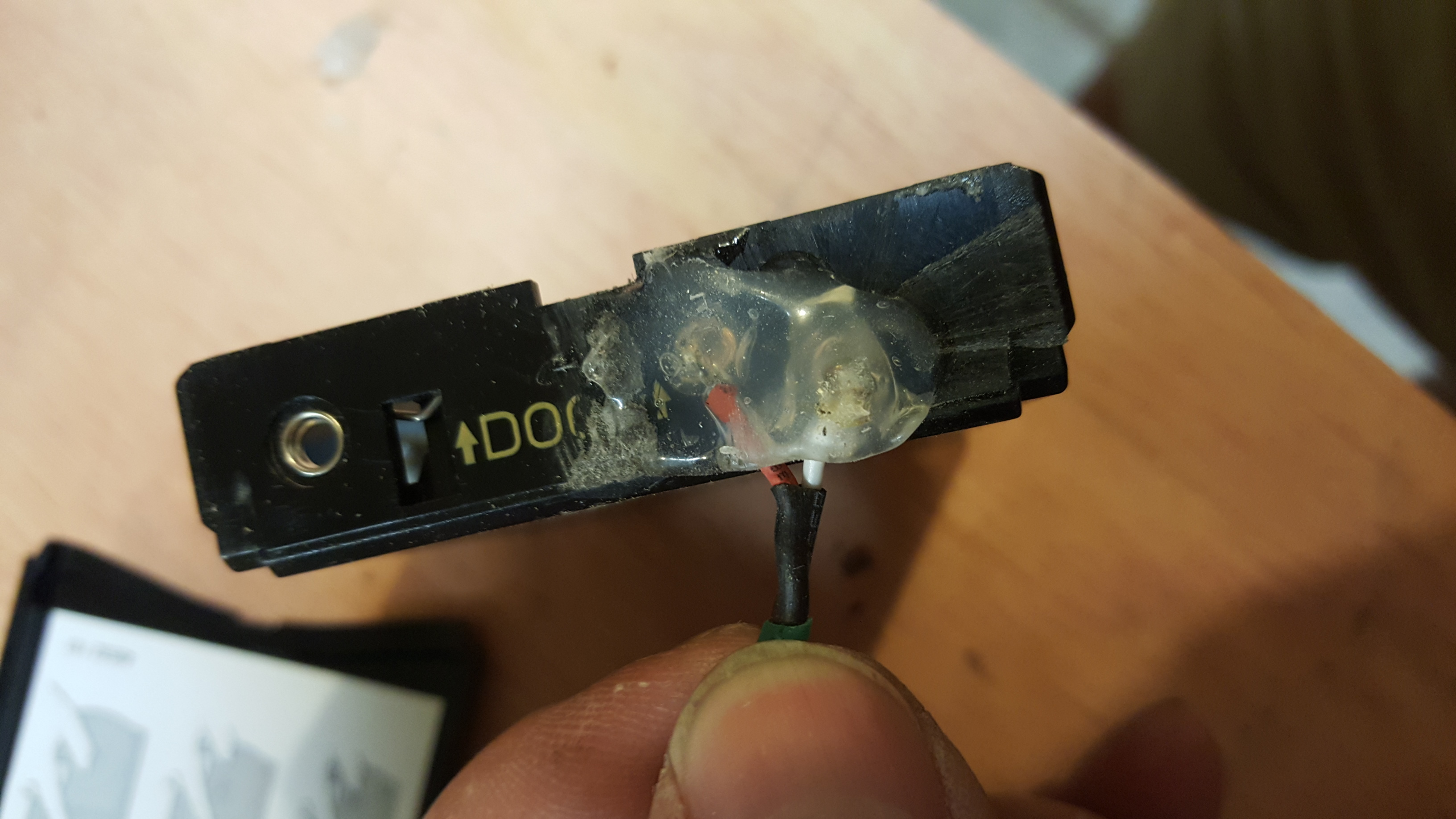 Picture of Modify the Battery Compartment.