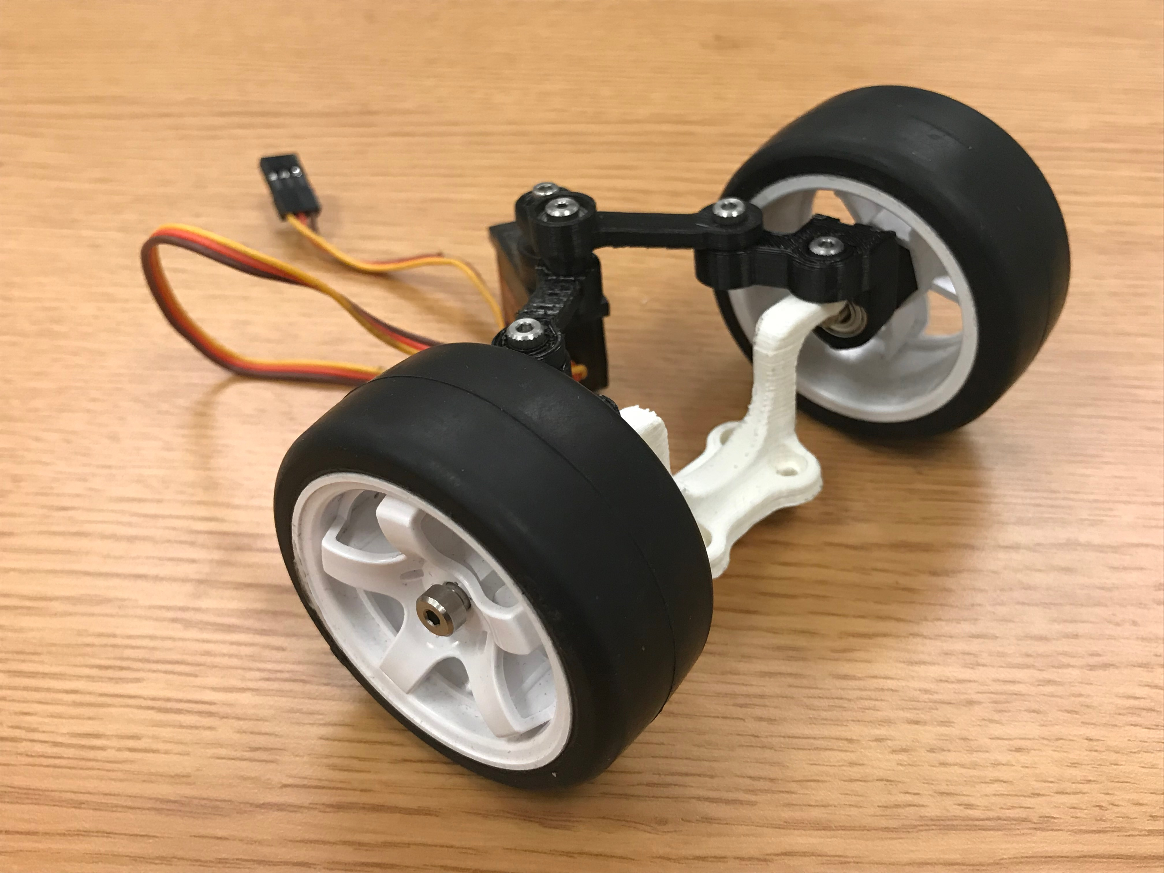 Picture of Connect Wheels to Front Wheel Assembly
