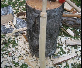 How to carve a sword