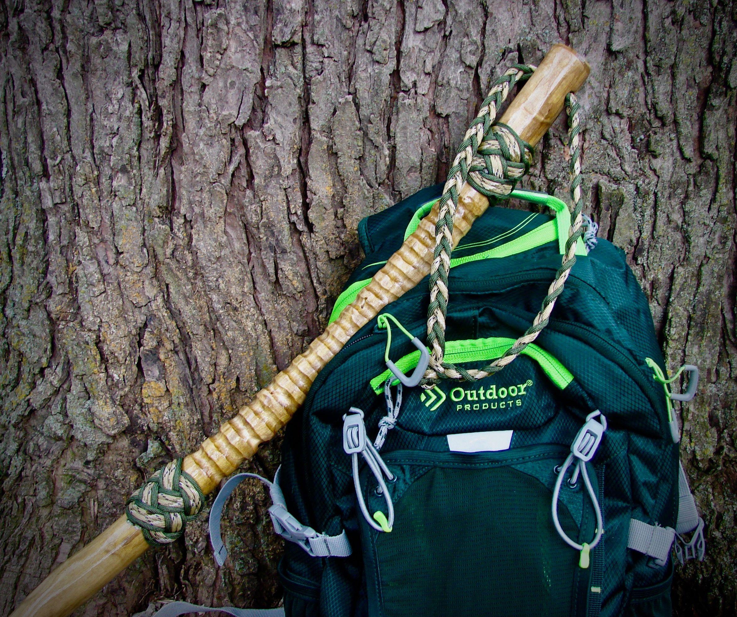CANES GREEN BRAIDED WRIST STRAP FOR WALKING STICKS