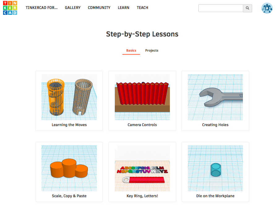 Picture of Onward to Tinkercad!