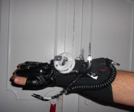Glove Mounted Soldering Station