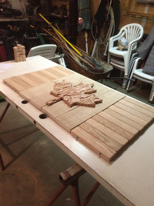 Finally Laid Out, Ready for Stain.