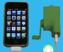 USB Iphone Ipod Dynamo Charger