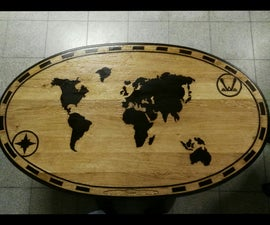 World Map Tabletop
