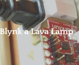 Wi-fi Enable a Lava Lamp (or Almost Anything)
