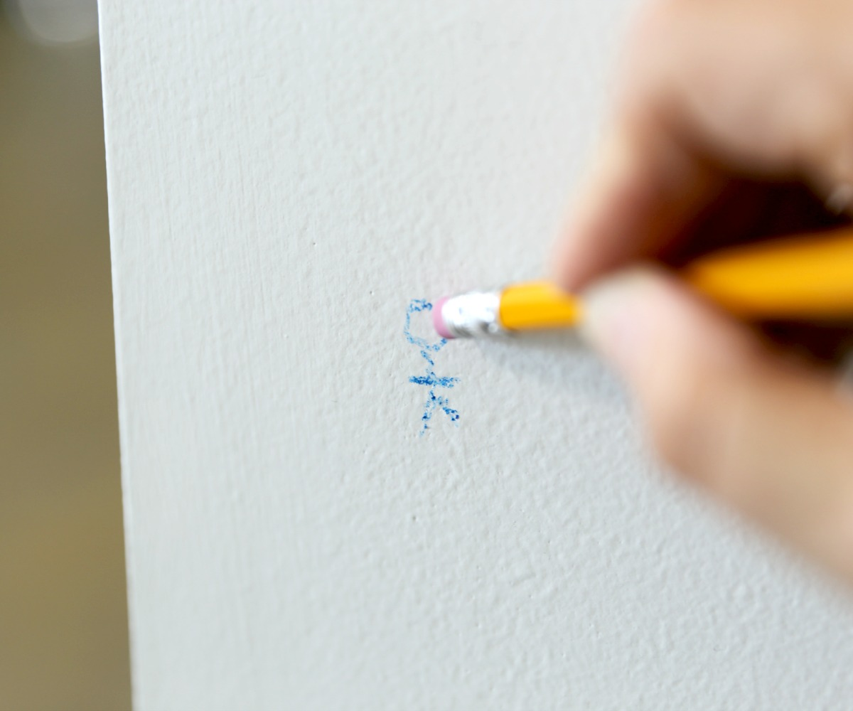 Picture of Erase Crayon From Walls