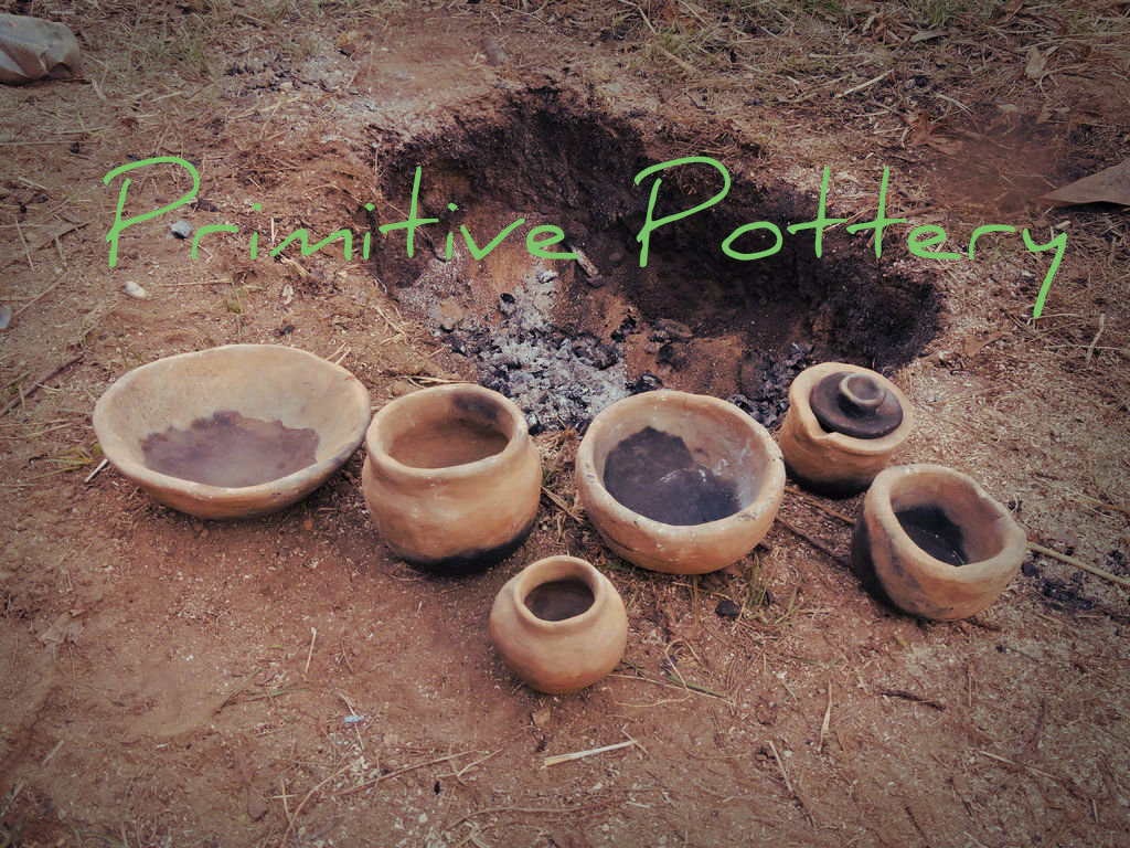 Picture of DIY Primitive Pottery Firing
